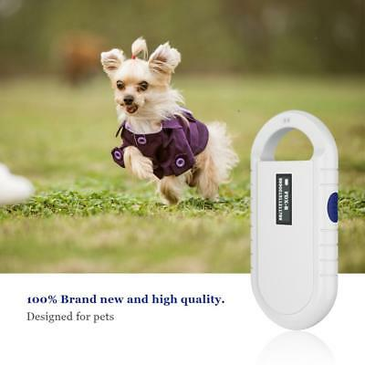 Animal ID Reader Chip Dog Microchip Portable Pet Scanner Rechargeable Handheld