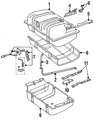 1979 Ford Fuel Tank Diagram