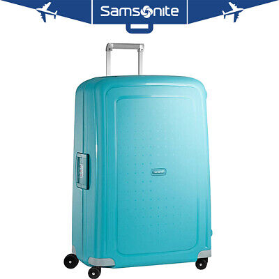"Samsonite S'Cure 20"" Zipperless Spinner Luggage - Turquoise - (49539-1012)"