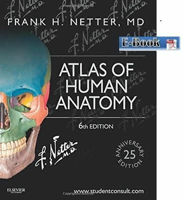 Netter Basic Science: Atlas of Human Anatomy by Frank H. Netter (PDF, 6th)