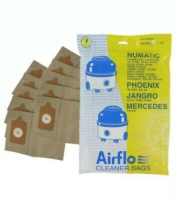 20 x Bags For Numatic Henry Hetty James Filter FLO Vacuum Cleaner Hoover Bags
