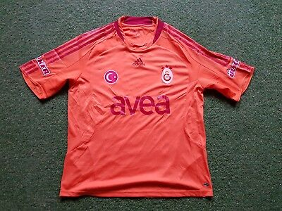 Details about Galatasaray Football Shirt XL Adidas Jersey Trikot Avea