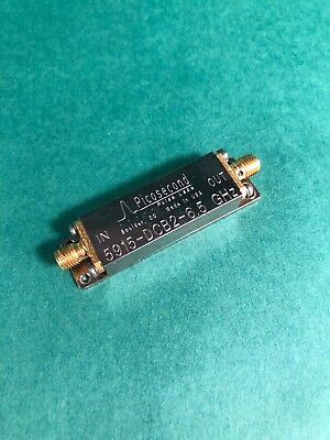 Picosecond Pulse Labs 6.5GHz Low-Pass Filter / DC Block  5915-6.5GHz 5915-DCB2
