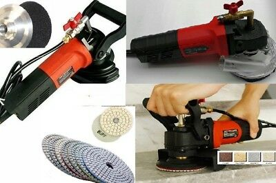 Wet Polisher sander Dust shroud 11+1 Polishing sanding granite concrete ceramic