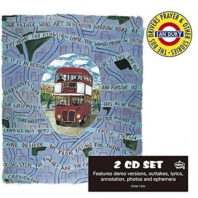 Ian Dury - The Bus Driver's Prayer (Deluxe Edition) 2 Cd New!