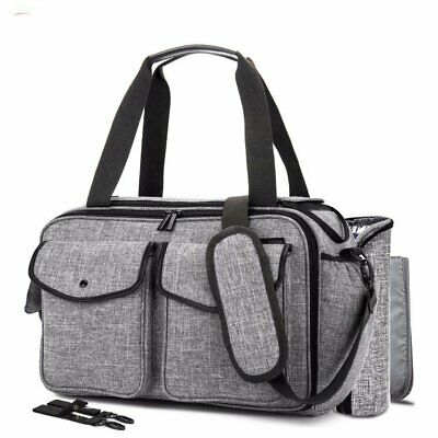 Baby Diaper Bag with Insulated Pockets Multifunctional Accesories Shoulder Incl