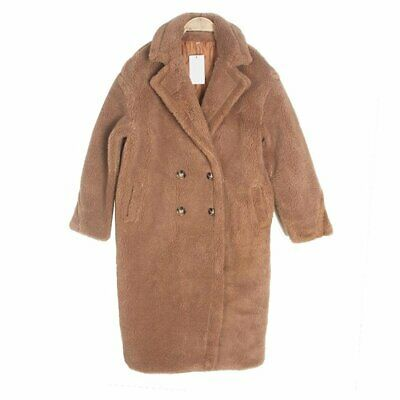 Women's Coat Fake Fur Thick Warm Curly Teddy Trend Oversize with Underneath Win