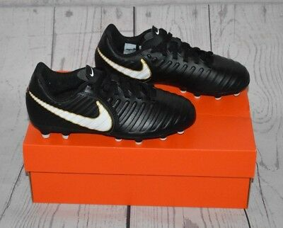 the latest 14a91 099a6 Nike Jr Tiempo Rio IV Firm-Ground Kids Soccer Cleats Size 1 Youth