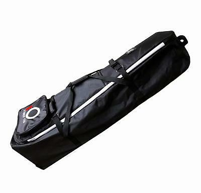 Golf Club Travel Case Luggage Bag With Wheels Carrier Rolling Wheeled Waterproof
