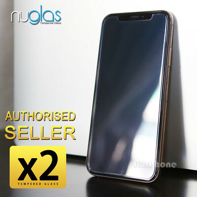 For iPhone XS Max NUGLAS Tempered Glass Screen Protector Superior Protection