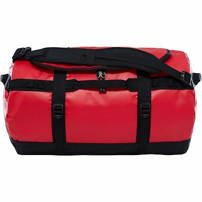 ef4b69cdce The North Face Base Camp Small Unisex Bag Duffle - Tnf Red Black One Size