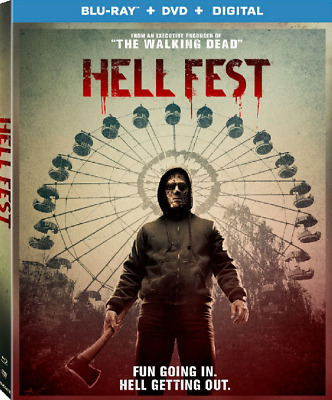 Hell Fest (BLU-RAY DISC ONLY NO DVD OR DIGITAL COPY)FREE SHIPPING!!!!!