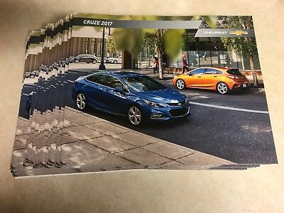 21 total 2017 CHEVY CRUZE 36-page Original Sales Brochure