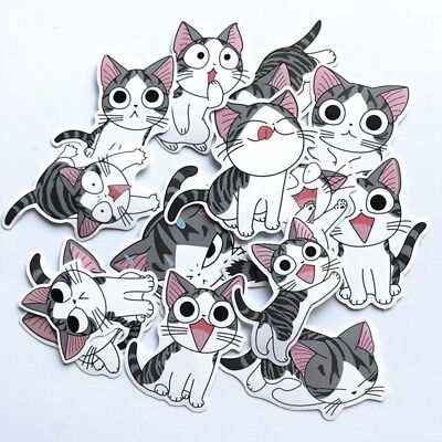 14Pcs/Lot Chi's Sweet Home Stickers Anime For Decal Snowboard Laptop Luggage Car