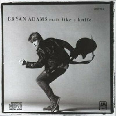 "Bryan Adams ""Cuts Like A Knife"" Cd New!"