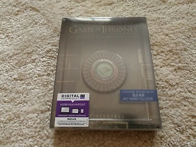 Game of Thrones Steelbook komplette Staffel Season 1 Blu Ray Deutscher Ton OVP