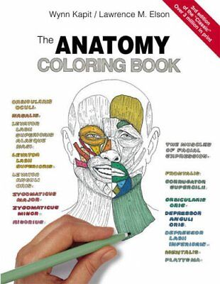 The Anatomy Coloring Book By Wynn Kapit, Lawrence M. Elson