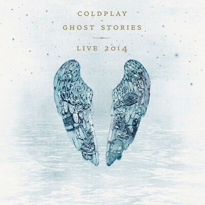 Coldplay - Ghost Stories Live 2014  Cd + Dvd New!