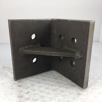 "4"" x 4"" x 3.5"" ANGLE PLATE FOR TOOL MAKER, MOLD MAKER, INSPECTOR, MACHINIST"