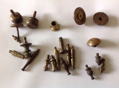 Antique Clock Feet Sets Pairs Singles Ex Clockmakers Spare Parts