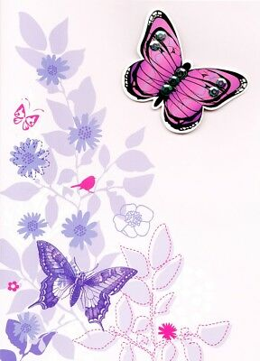Happy 90th Birthday Butterfly Greeting Card Second Nature Greetings Cards