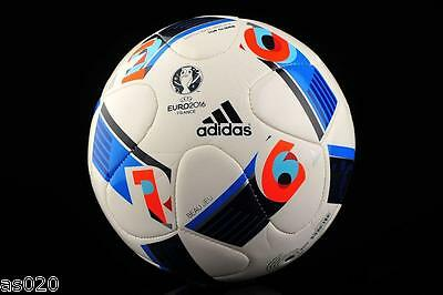 Adidas UEFA Euro 2016 Top Glider Beau Jeu Match Ball Replica Football Size  3 4 5 a36bf0a30fa22