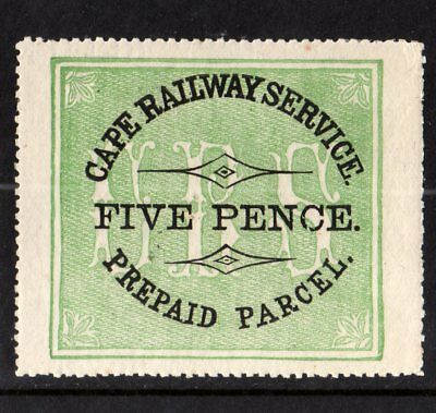 Cape Railway Service 1882 Local Railways Stamp,south Africa,cape Colony,crs