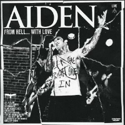 """Aiden """"Evil (From Hell...with Love)"""" Cd+Dvd New!"""