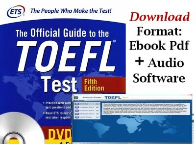 Official Guide to the TOEFL Test 2018, 5th. Ed PDF + Audio Program MP3