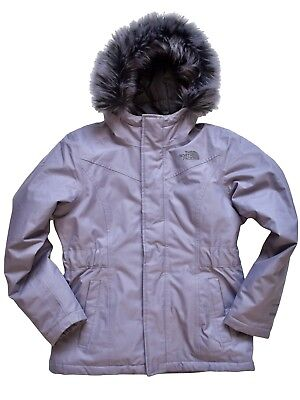 dfa33951c THE NORTH FACE Kids Girls Olive Greenland Down Parka Waterproof 550 ...