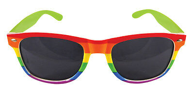 4d4f132d44 Adult Rainbow Gay Pride Sunglasses Shades Rave Party Carnival LGBT Festival