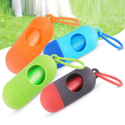 Bags Dog Poo Carrier Cat Waste Poop Pet Garbage Box Holder Case Dispenser