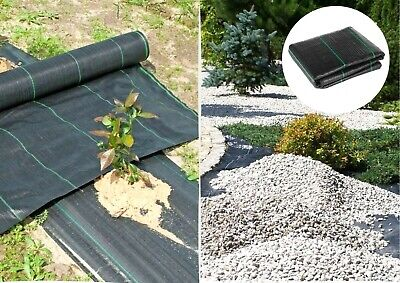 ALL SIZE Garden weed control fabric ground cover membrane landscape mulch