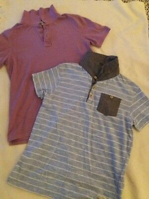 Boys Polo Shirts From M&S /George Age  11-13