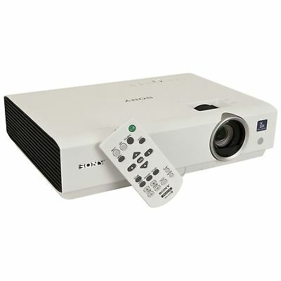 Sony VPL-DX120 Tri-LCD HDMI Mobile Home Cinema Projector 2600 Lumens Remote/Bag