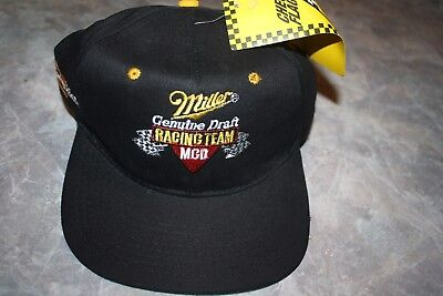 MILLER GENUINE DRAFT - Baseball Style Golf Hat - Black...Ying   Yang ... 1e8437bd317c