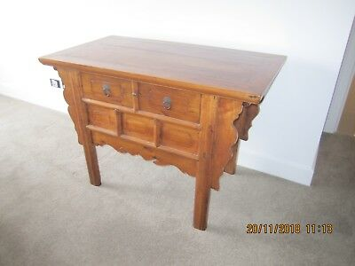 Chinese Altar Console Table