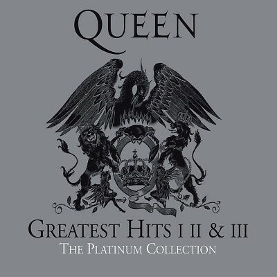 Queen - The Platinum Collection (2011 Remastered) 3 Cd New!