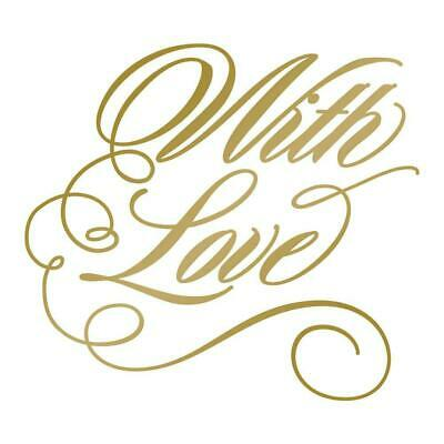 With Love - GoPress and Foil HotFoil Stamp Die - Hot Foil
