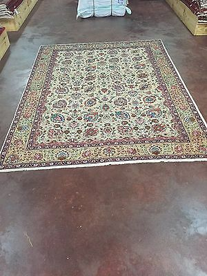 On Sale Beautiful Fine With Signature Hand Knotted Persian,180-190KPSI Rug 7x10,