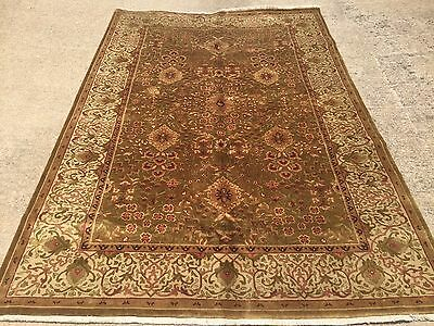 Hand Knotted persian design Rug  6 x 9