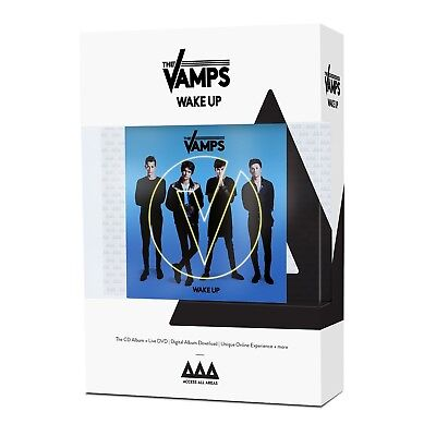The Vamps - Wake Up (Limited.access All Areas Edition.)  Cd + Dvd New!
