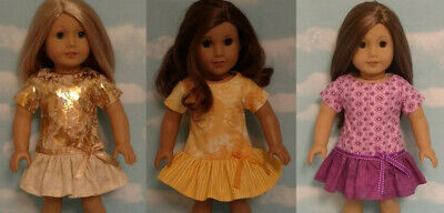 """18"""" Doll Dress fits 18 inch American Girl Doll Clothes 85abc"""