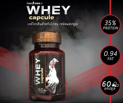 Thunder Whey Protein Capsule Rooster Pigeon Para Gallos Thai Popular Supplement