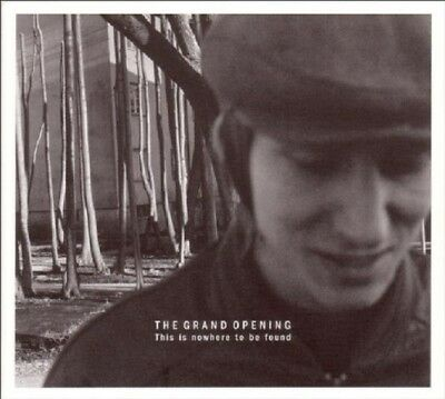 The Grand Opening - This Is Nowhere To Be Found  Cd New!