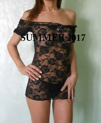 Sexy Babydoll  Nero In Pizzo   116