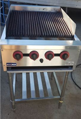 Gasmax Grill 4 LPG Gas Burner with Oven Flame on Stand... As New