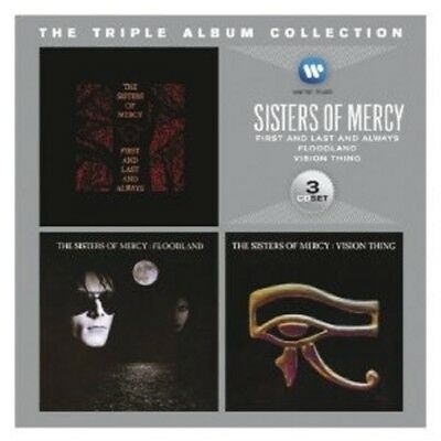 Sisters Of Mercy - The Triple Album Collection (Vision Thing/+) 3 Cd New!