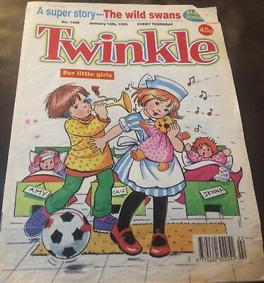 Twinkle Comic # 1408-January 4th 1995