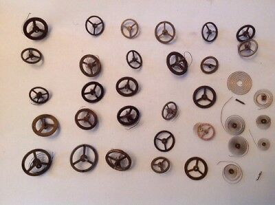 Clock Balance Wheels Good Selection Ex Clockmakers Spare Parts Collection ref 13